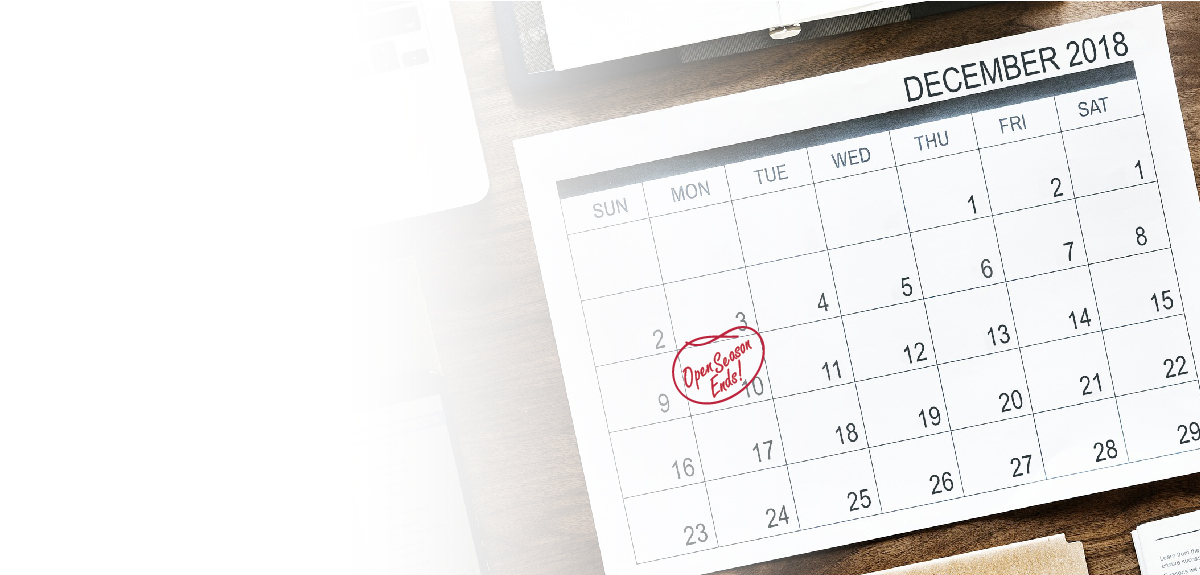 calendar with Dec. 10 circled in red