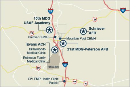 Colorado Springs Military Health System   TRICARE
