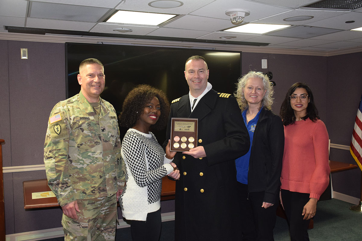 Courtesy photo, DiLorenzo Pentagon Clinic earns national recognition for commitment to improve high blood pressure