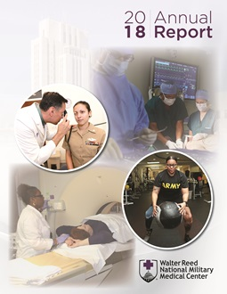 2018 Walter Reed National Military Medical Center Annual Report Front Cover