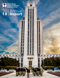 2019 Walter Reed National Military Medical Center Annual Report Front Cover