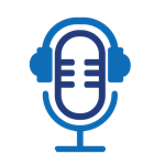 icon of microphone with headphones